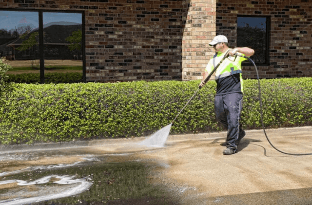 commercial concrete cleaning in vancouver
